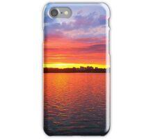 Sunset in Washington, DC iPhone Case/Skin