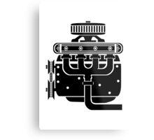Engine Metal Print
