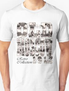 Old Moscow Photo Collage Unisex T-Shirt