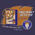 Timey Wimey Machine - Doctor Approved! (Orange) by cakeyhamburger