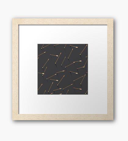 Arrows: 2 Framed Print