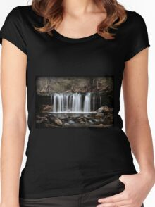 Oneida Falls April Women's Fitted Scoop T-Shirt