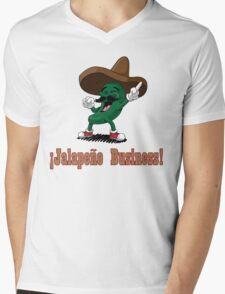 Why are Peppers so Nosey?? Mens V-Neck T-Shirt