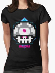 I KILL PXLS: Dead Pixels - VERSION BLACK Womens Fitted T-Shirt
