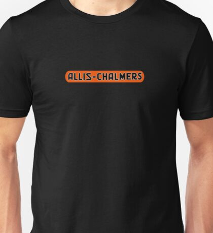 Allis Chalmers Vintage Farm Equipment Unisex T-Shirt