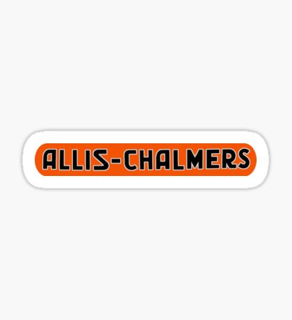 Allis Chalmers Vintage Farm Equipment Sticker