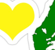 I Heart Cape Breton Sticker