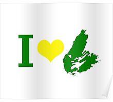 I Heart Cape Breton Poster