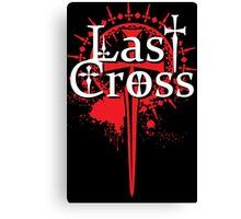 Last Cross Emblem Canvas Print
