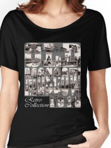 Old Moscow Photo Collage Women's Relaxed Fit T-Shirt