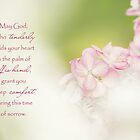 God of Comfort - Sympathy Card by Tracy Friesen
