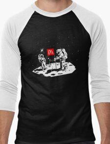 First we take Manhattan, Then we take Moon Men's Baseball ¾ T-Shirt