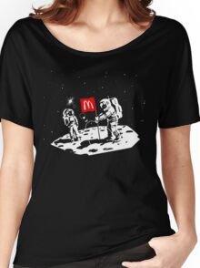 First we take Manhattan, Then we take Moon Women's Relaxed Fit T-Shirt