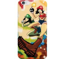 The Super Maria Sisters iPhone Case/Skin