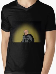Larry David as Batman Mens V-Neck T-Shirt