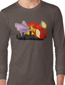 Venomothra Vs. Charzilla Long Sleeve T-Shirt