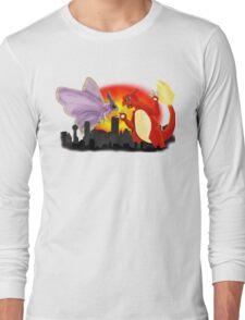 Venomothra Vs. Charzilla Long Sleeve T-Shirt