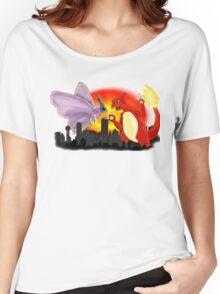 Venomothra Vs. Charzilla Women's Relaxed Fit T-Shirt