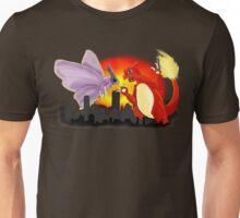 Venomothra Vs. Charzilla Unisex T-Shirt