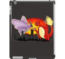 Venomothra Vs. Charzilla iPad Case/Skin