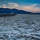 Badwater Basin at Sunrise by GeorgeBuxbaum
