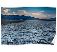 Badwater Basin at Sunrise Poster