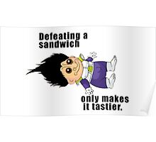 Defeating a Sandwich. Poster