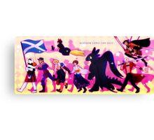 Glasgow Comic Con 2015 Canvas Print