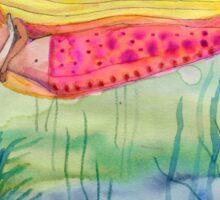 Pink Tail Sticker