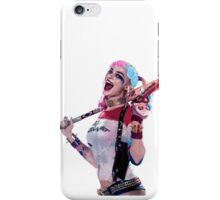 Harley Quinn Suicide Squad Mixed Flower Crown Sticker iPhone Case/Skin