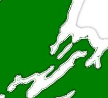 Cape Breton Island is my Home Sticker