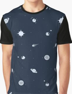 Planetary Polka Dots Graphic T-Shirt