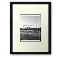 Santa Monica, California Framed Print