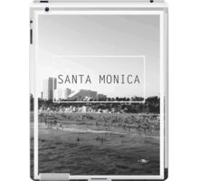 Santa Monica, California iPad Case/Skin
