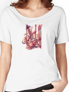 Cleanliness is half of Faith  Women's Relaxed Fit T-Shirt