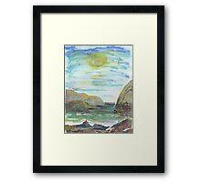 SUNNY AFTERNOON(C2016) Framed Print