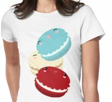 Petit Macaron Womens Fitted T-Shirt