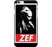 Zef iPhone Case/Skin