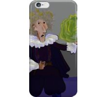 Hamlet with Cabbage iPhone Case/Skin