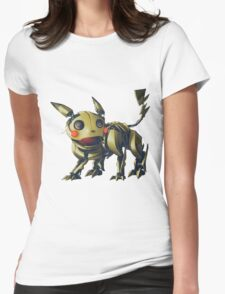 ~ Robotic Pikachu ~ Womens Fitted T-Shirt
