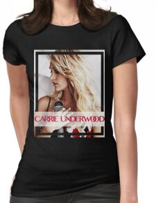 carrie underwood Womens Fitted T-Shirt