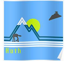 vintage hoth 2  Poster