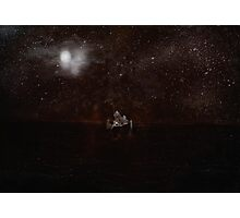 The Silent Boat Photographic Print