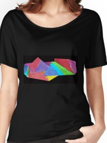crumpled coloure Women's Relaxed Fit T-Shirt
