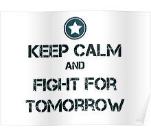 Fight for tomorrow Poster