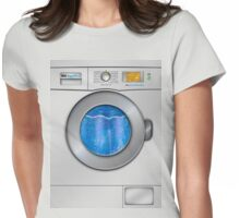 Washing Machine Womens Fitted T-Shirt