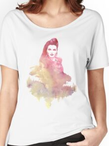 Evil Queen Red Water Color Women's Relaxed Fit T-Shirt