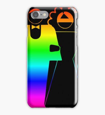 Rainbow Bride And Groom iPhone Case/Skin