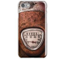 Rustic Speedometer Dial iPhone Case/Skin
