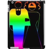 Rainbow Bride And Groom iPad Case/Skin